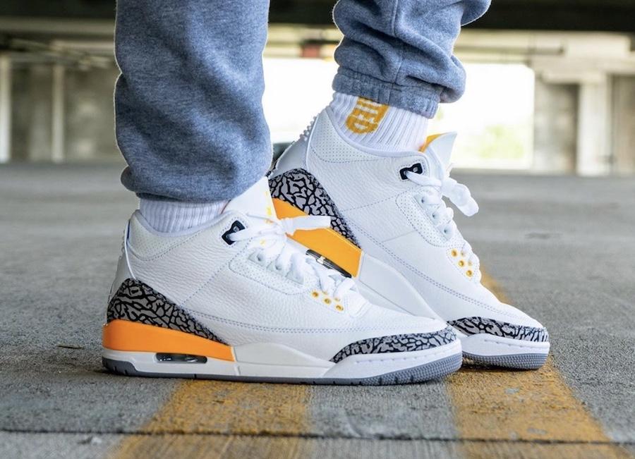 """Air Jordan 3 WMNS """"Laser Orange"""" 4"""