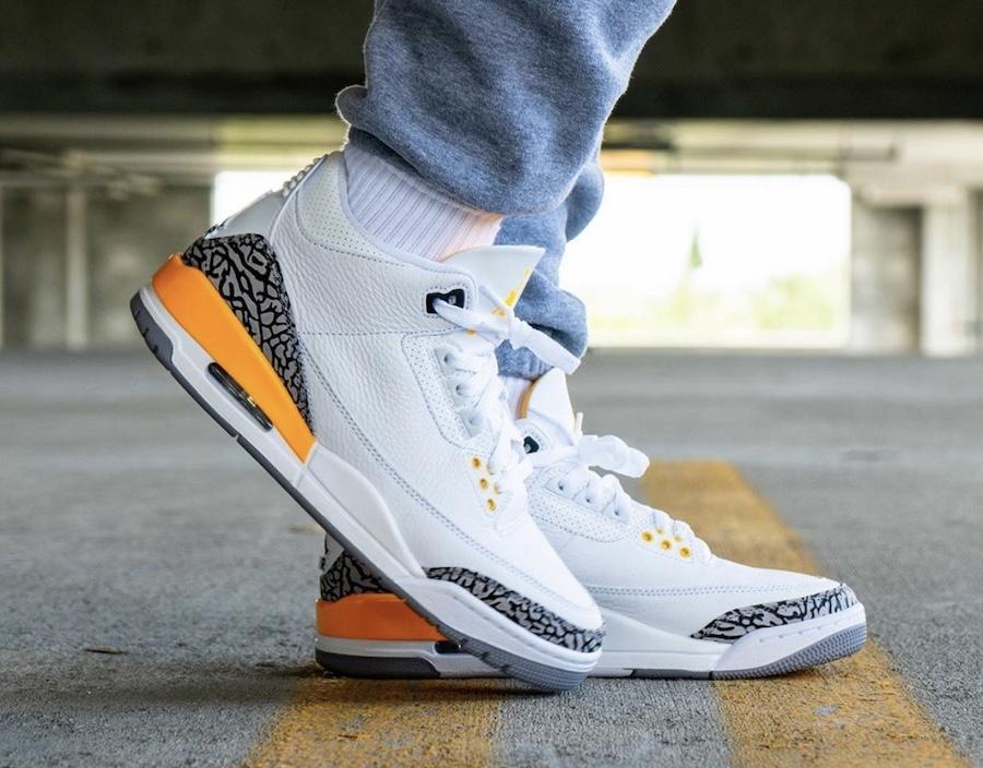 """Air Jordan 3 WMNS """"Laser Orange"""" 5"""