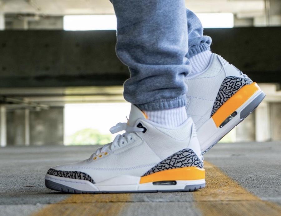 """Air Jordan 3 WMNS """"Laser Orange"""" 3"""