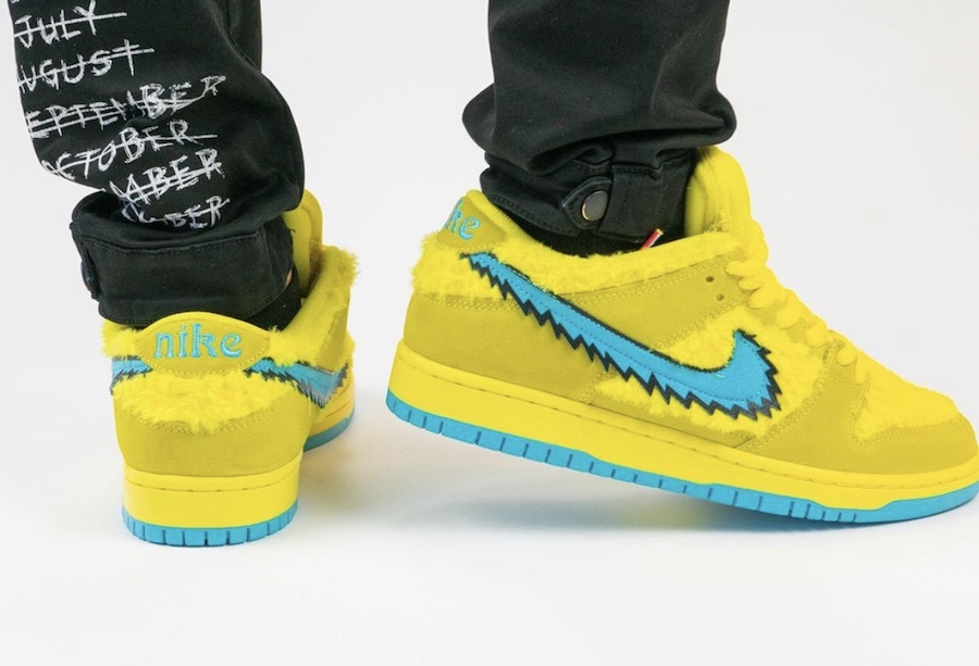 Grateful-Dead-Nike-SB-Dunk-Low-Yellow-Bear-CJ5378-700-Release-Date