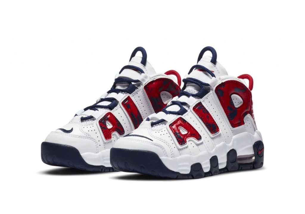 Nike-Air-More-Uptempo-PS-White-Red-Blue