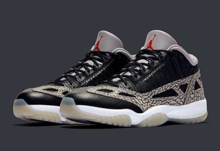 Air Jordan 11 Low IE Black Cement