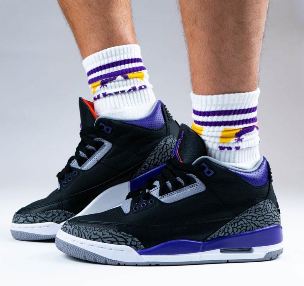 Air Jordan 3 Court Purple