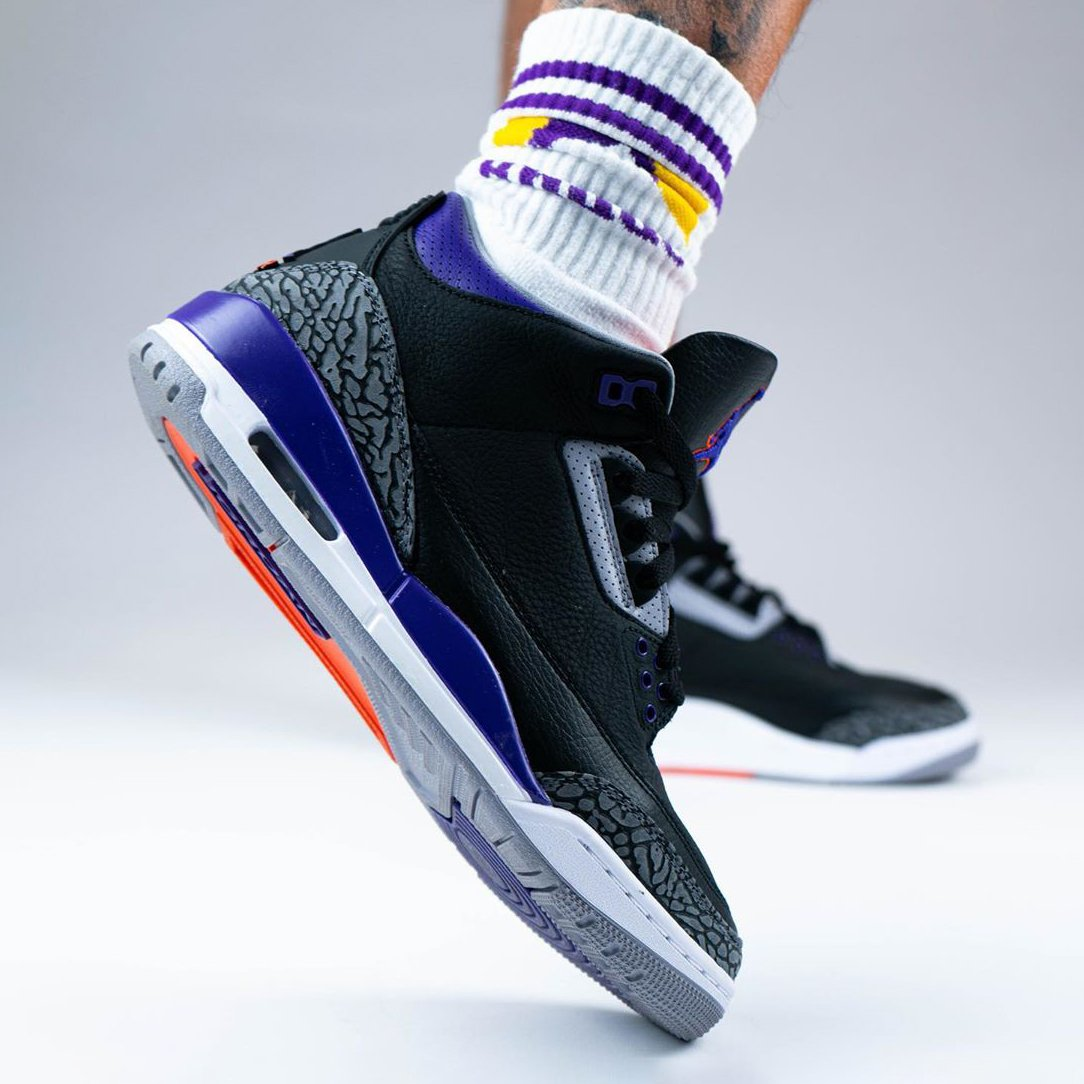 Air Jordan 3 Court Purple
