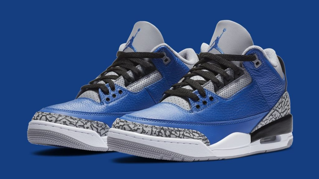 "Air Jordan 3 ""Varsity Royal"""