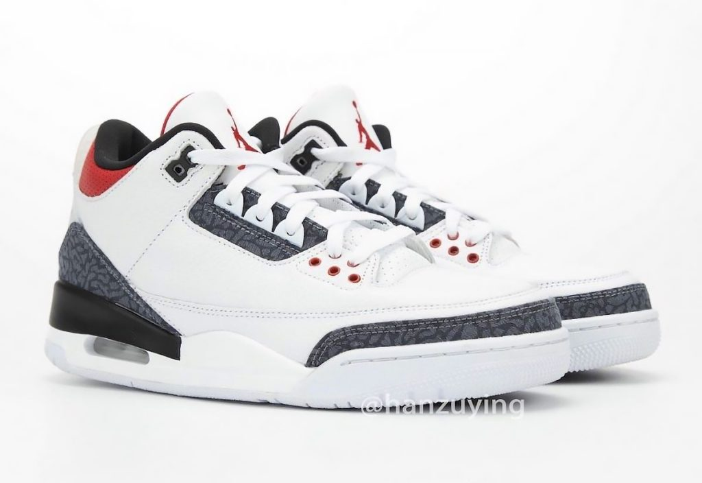 Air Jordan 3 DNM Fire Red