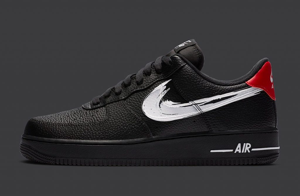 Nike Air Force 1 Brushstroke Swoosh