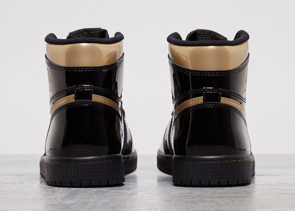 Air Jordan 1 High OG Metallic Gold-4