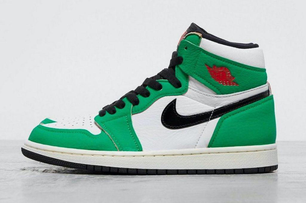 Air Jordan 1 High OG Lucky Green-1