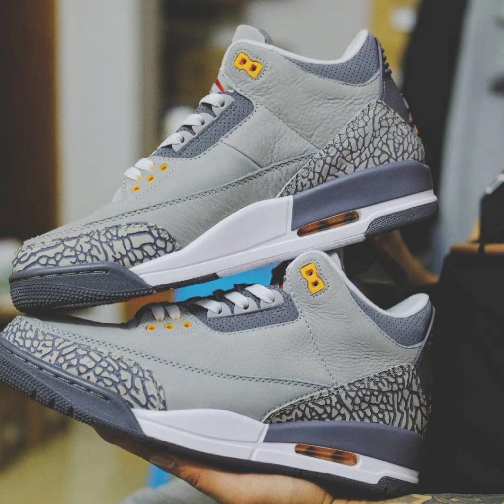 Air Jordan 3 Cool Grey New Look-1