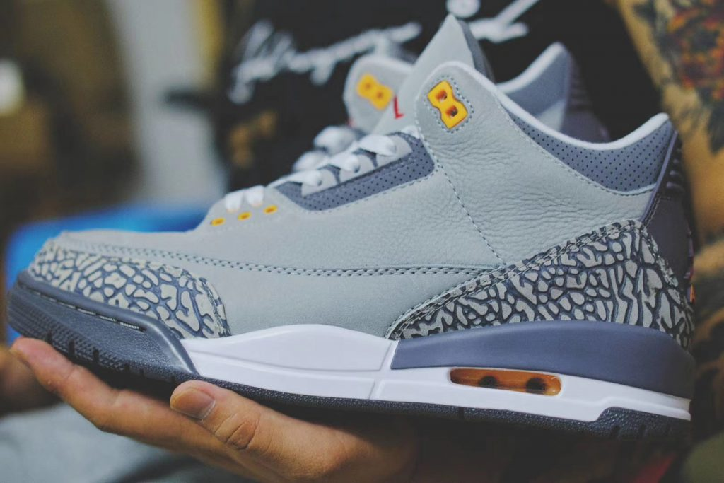 Air Jordan 3 Cool Grey New Look