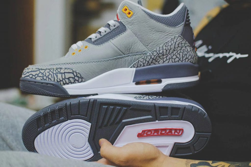 Air Jordan 3 Cool Grey New Look-2