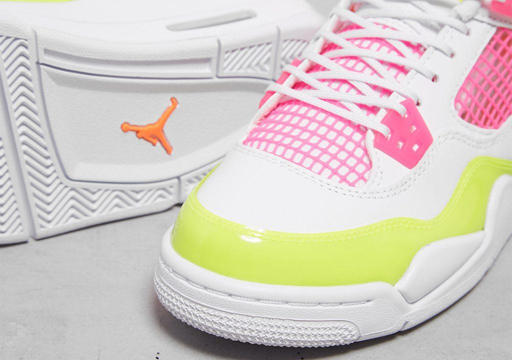 Air-Jordan-4-GS-Lemon-Venom-Pink-Blast-CV7808-100-Release-Date-4