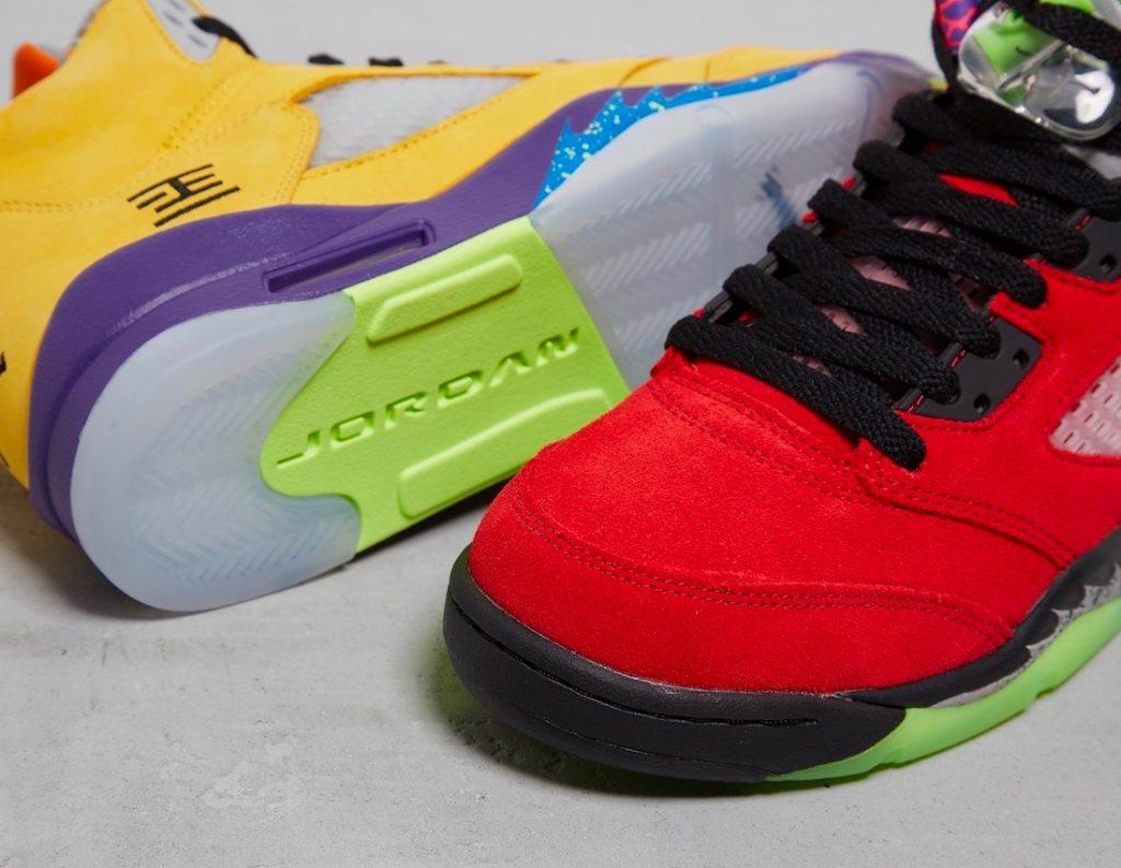 Air Jordan 5 What the closeup
