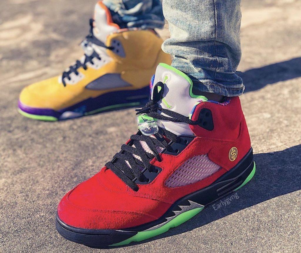 Air Jordan 5 What The On-feet-6