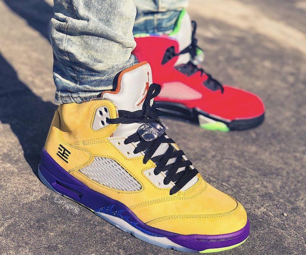 Air Jordan 5 What The On-feet-5