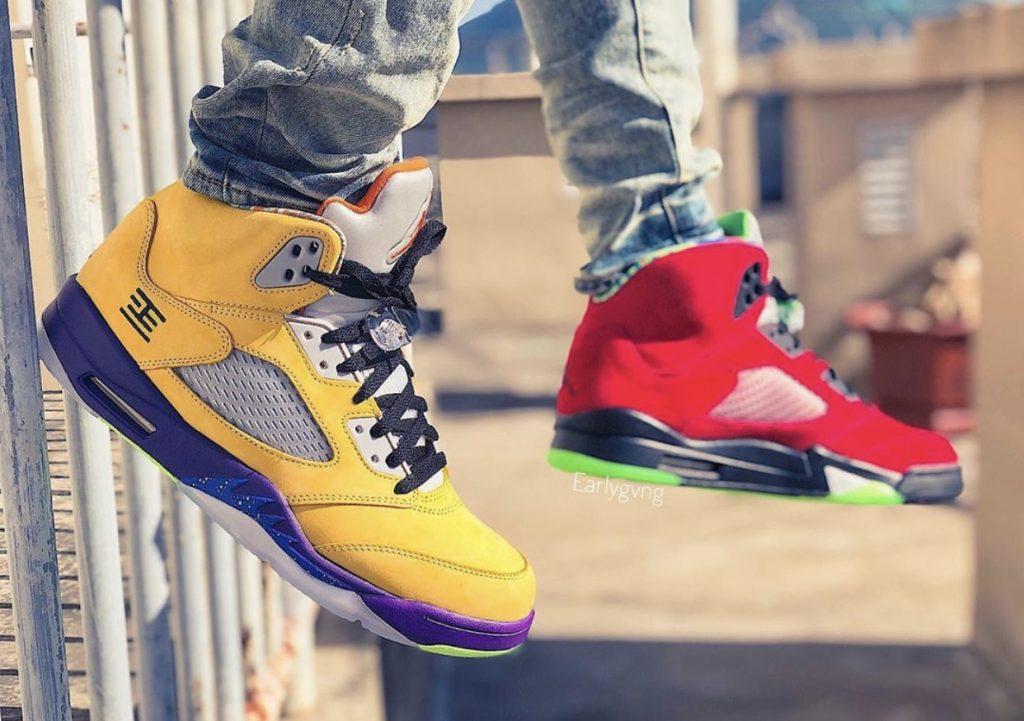 Air Jordan 5 What The On-feet-1