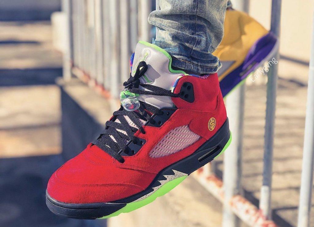 Air Jordan 5 What The On-feet-3