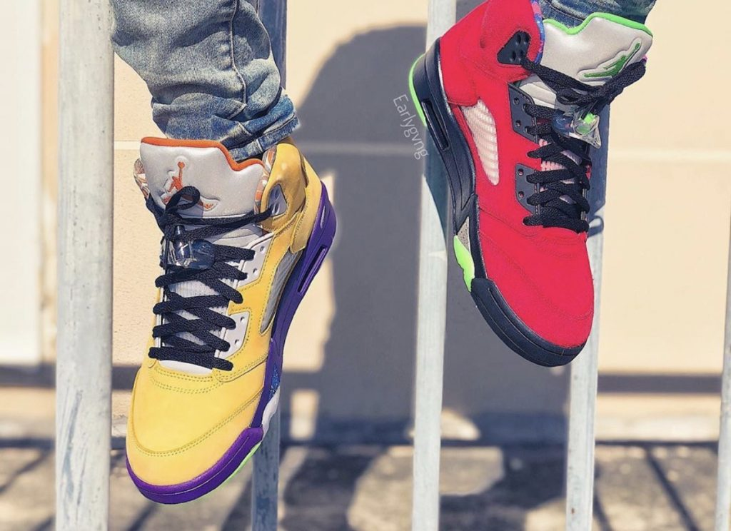 Air Jordan 5 What The On-feet-4