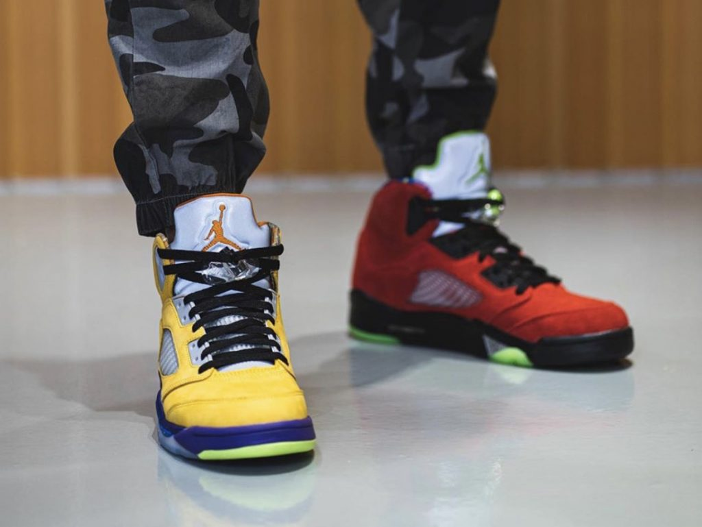 Air Jordan 5 What The-9