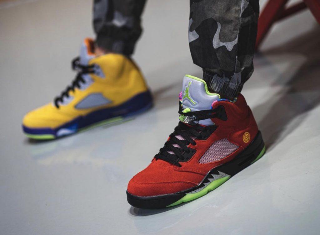 Air Jordan 5 What The-7