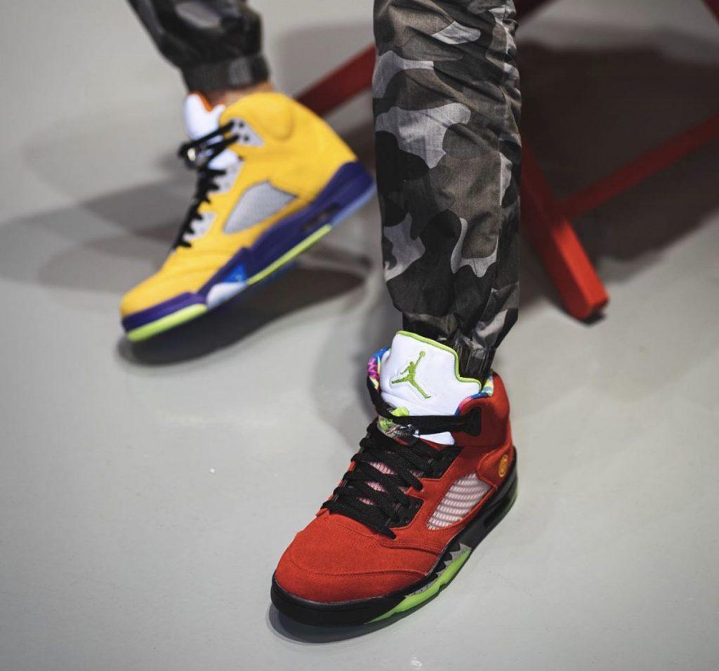 Air Jordan 5 What The-6