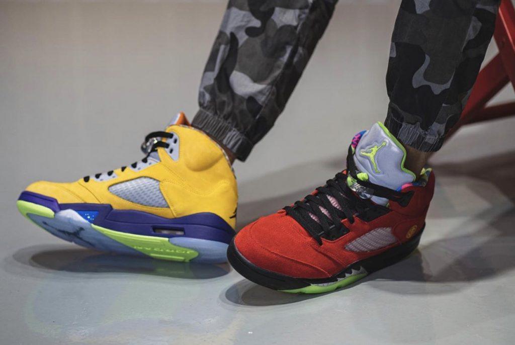 Air Jordan 5 What The-4