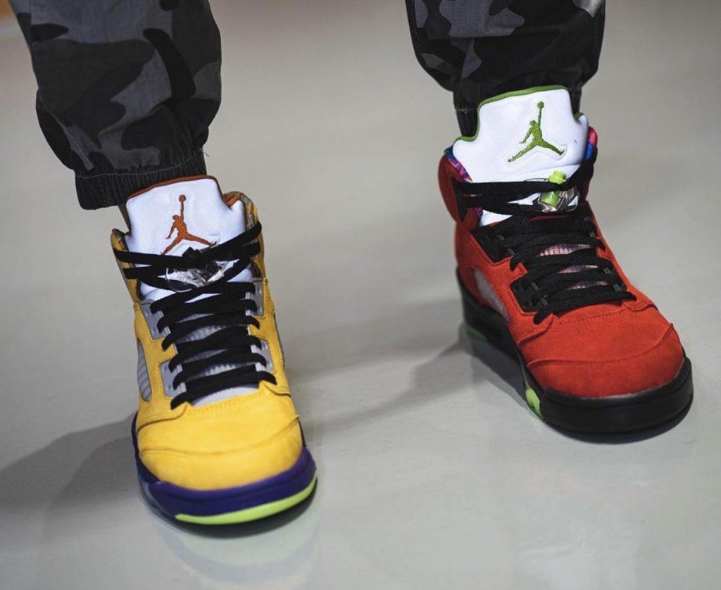 Air Jordan 5 What The-2