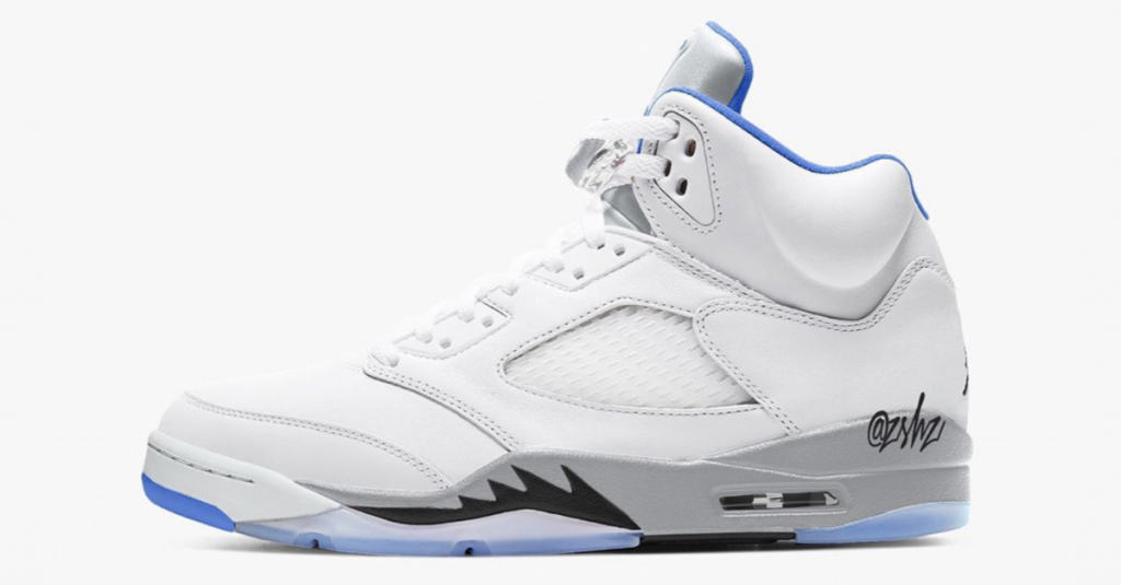 Air Jordan 5 Hyper Royal