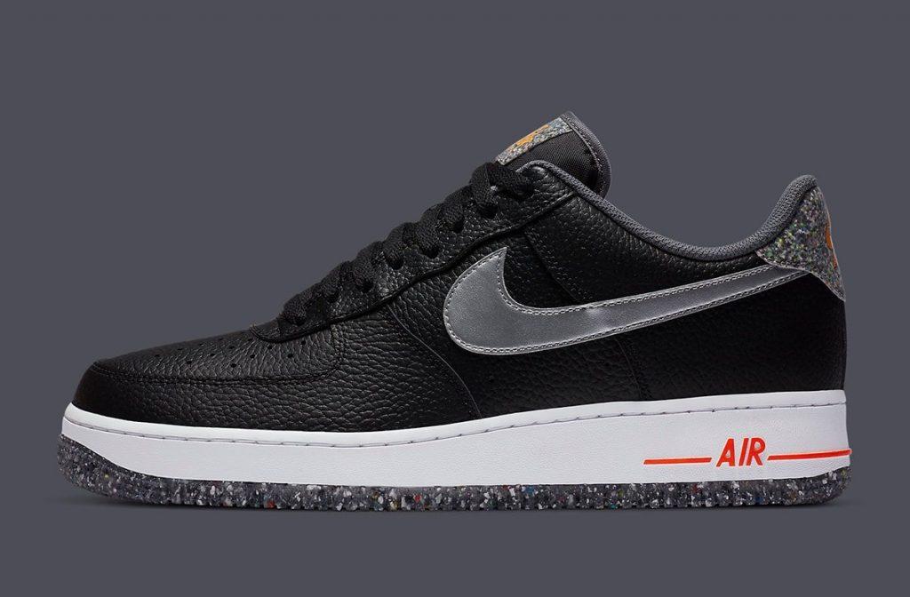 Nike Air Force 1 Low Crater Black-2