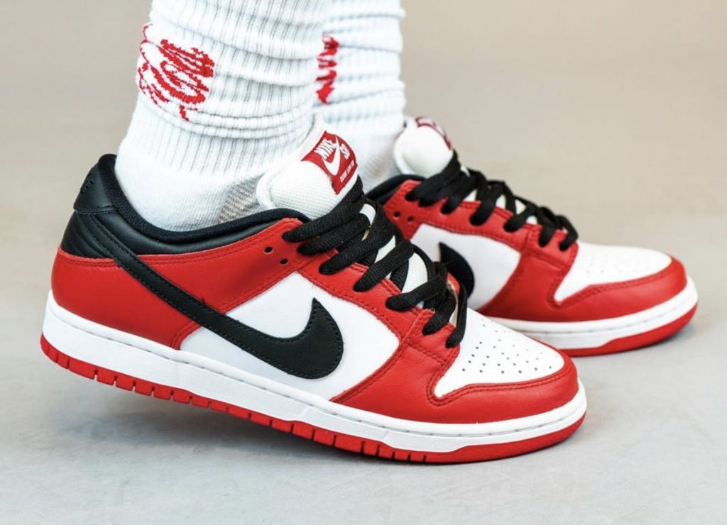 Nike SB Dunk Low Pro Chicago On-Feet-1