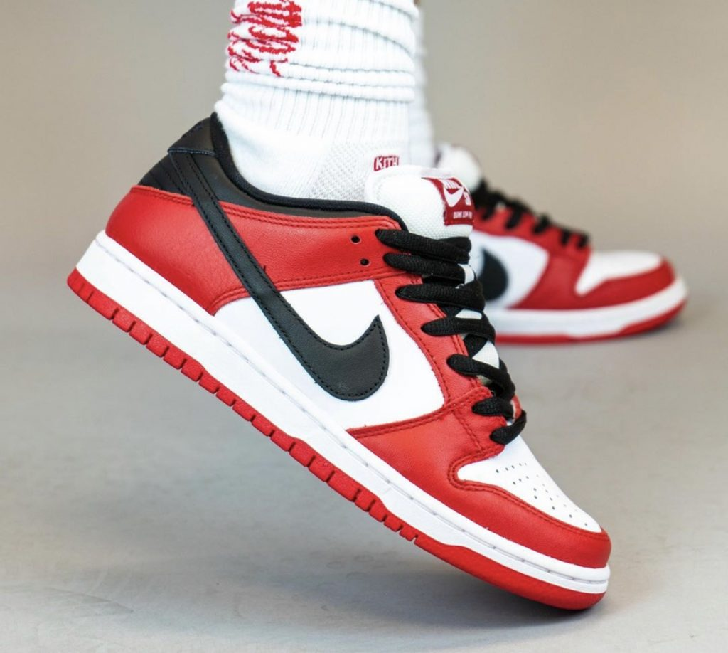 Nike SB Dunk Low Pro Chicago On-Feet-2