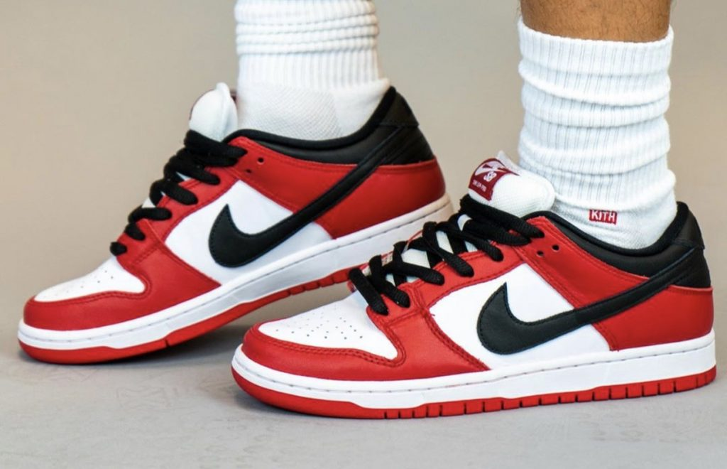 Nike SB Dunk Low Pro Chicago On-Feet-4