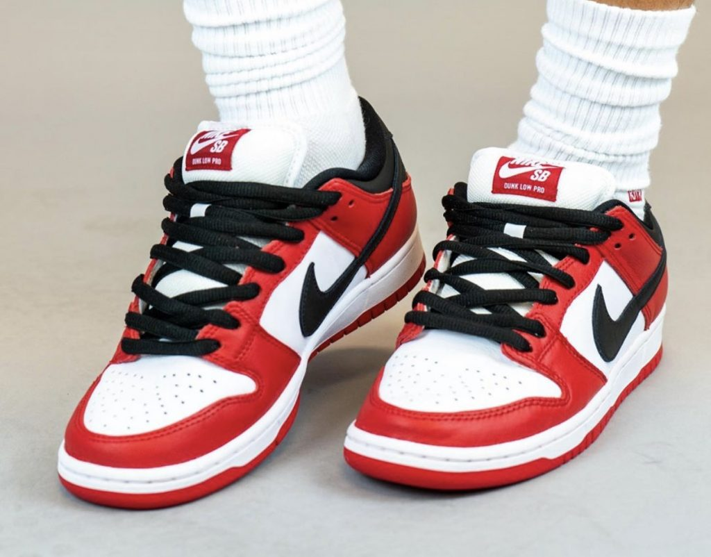 Nike SB Dunk Low Pro Chicago On-Feet-6