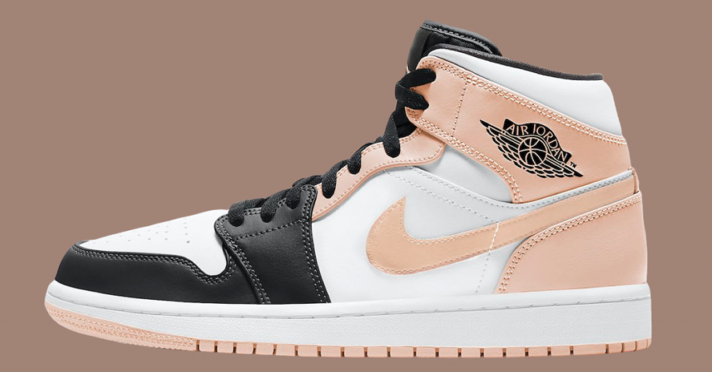 Air Jordan 1 Mid Crimson Tint-1