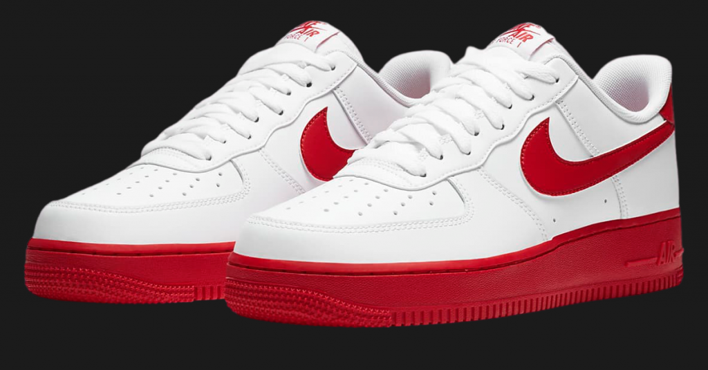 NIKE AIR FORCE 1 LOW UNIVERSITY RED-2