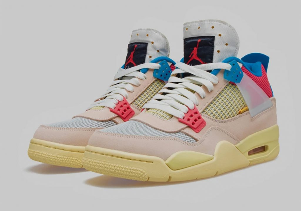 Union Air Jordan 4 Guava Ice-Official-2