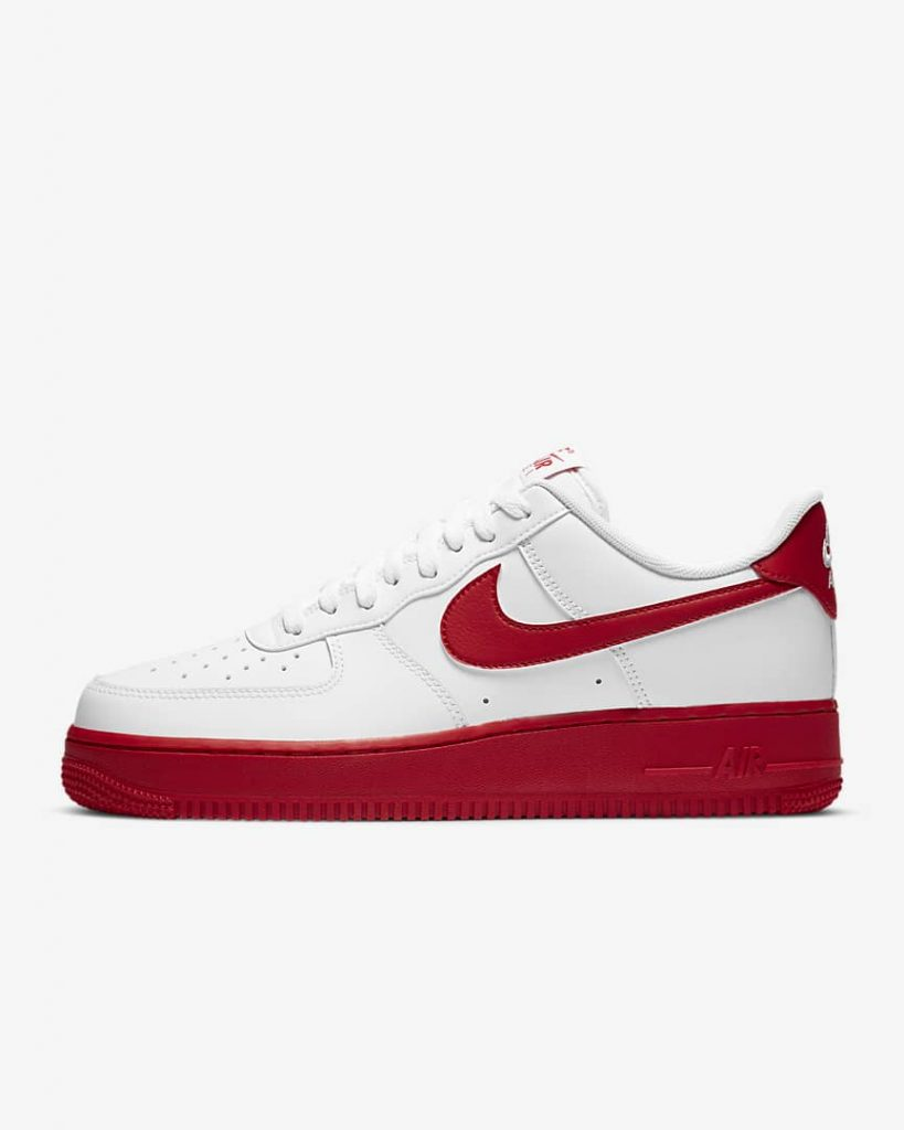 NIKE AIR FORCE 1 LOW UNIVERSITY RED-1