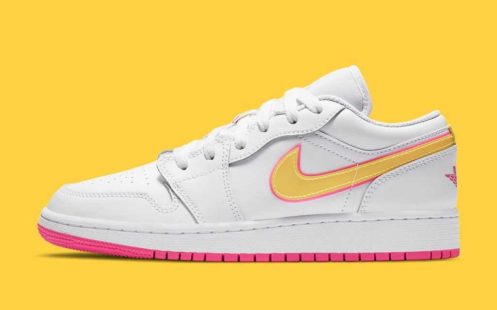 Air Jordan 1 Low GS Hyper Pink