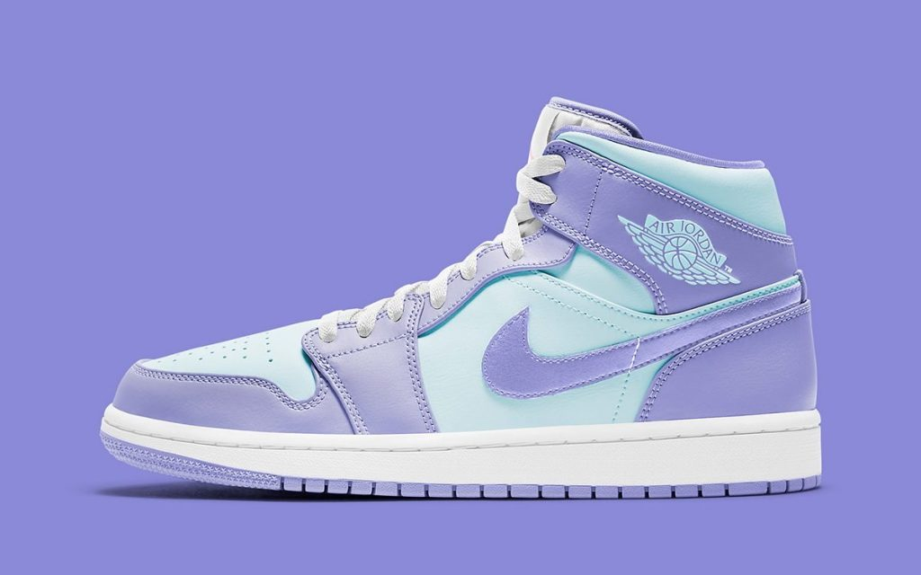 Air Jordan 1 Mid Aqua/Lavender-Featured Image
