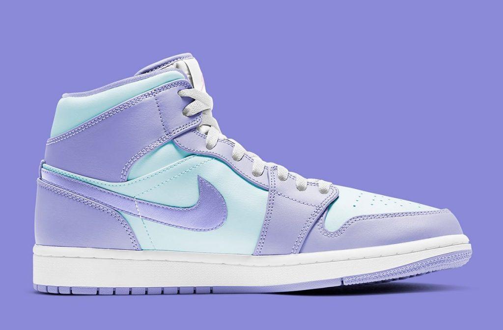 Air Jordan 1 Mid Aqua/Lavender-2