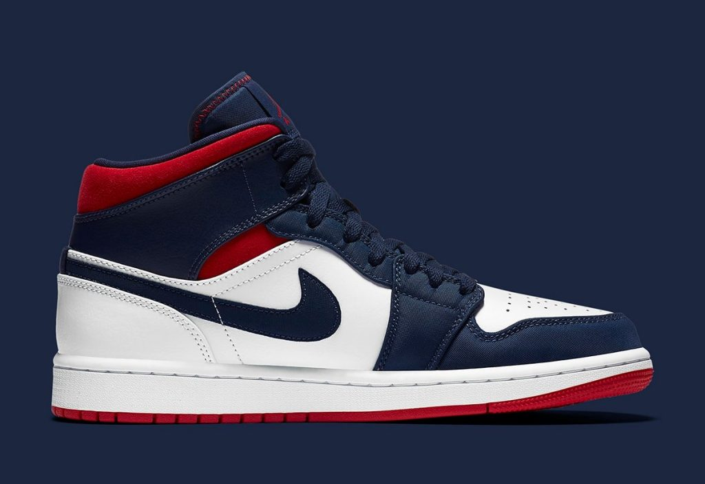Air Jordan 1 Mid SE USA