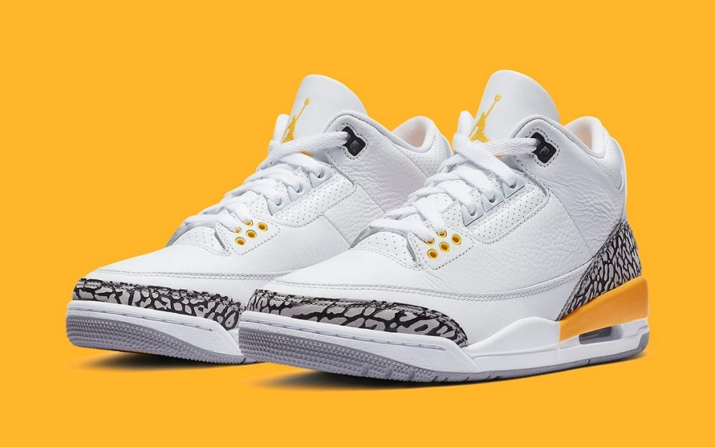 AIR JORDAN 3 WMNS LASER ORANGE-Official Look-Featured