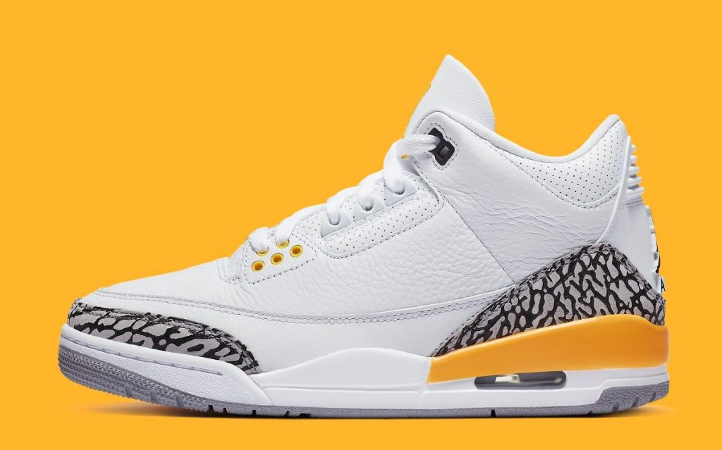 AIR JORDAN 3 WMNS LASER ORANGE-Official Look-2