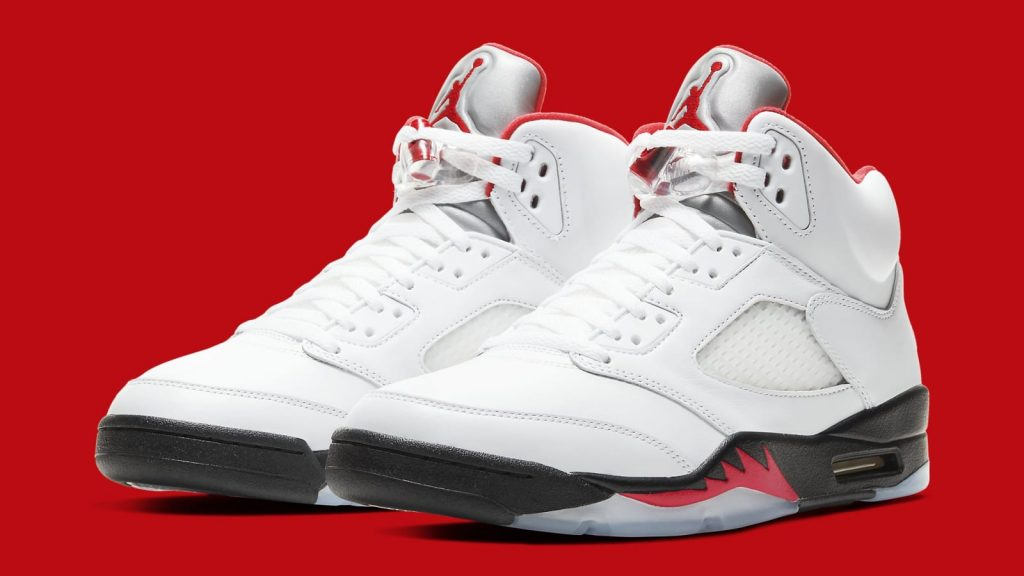 air jordan 5 fire red restock