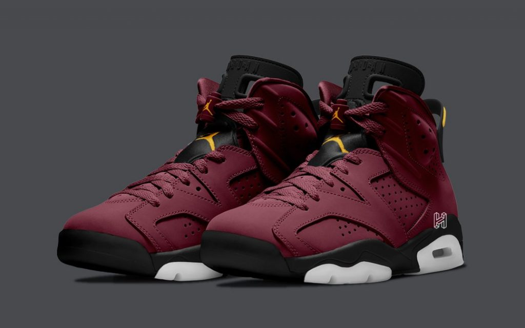 Air Jordan 6 Maroon/Gold