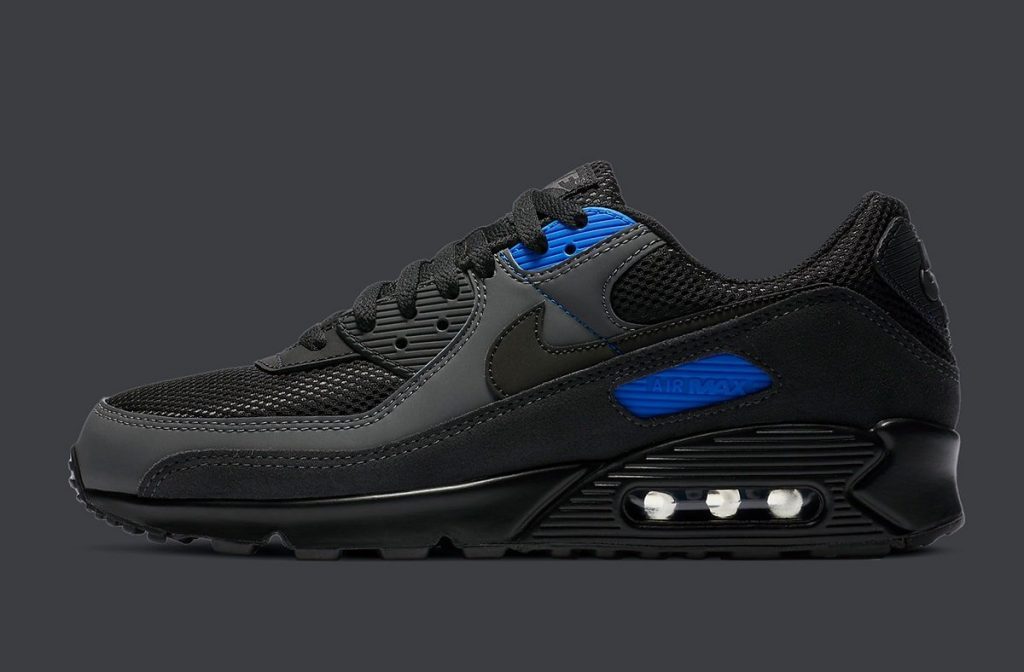 Nike Air Max 90 Black Royal-1