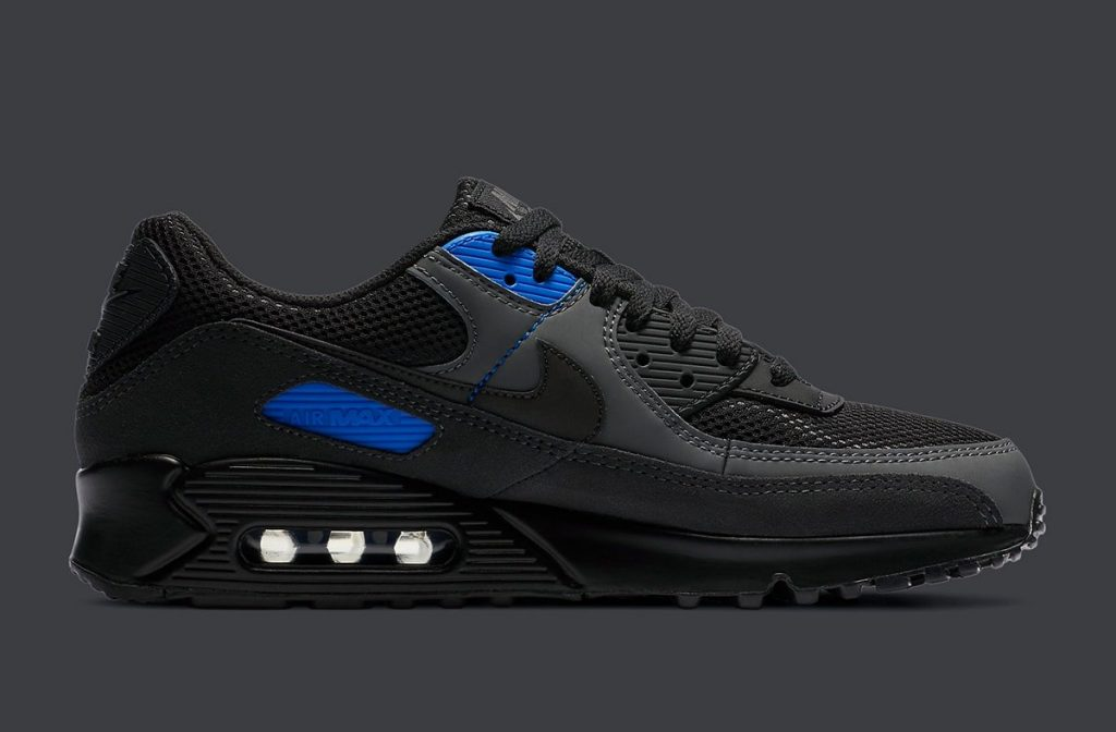 Nike Air Max 90 Black Royal-2