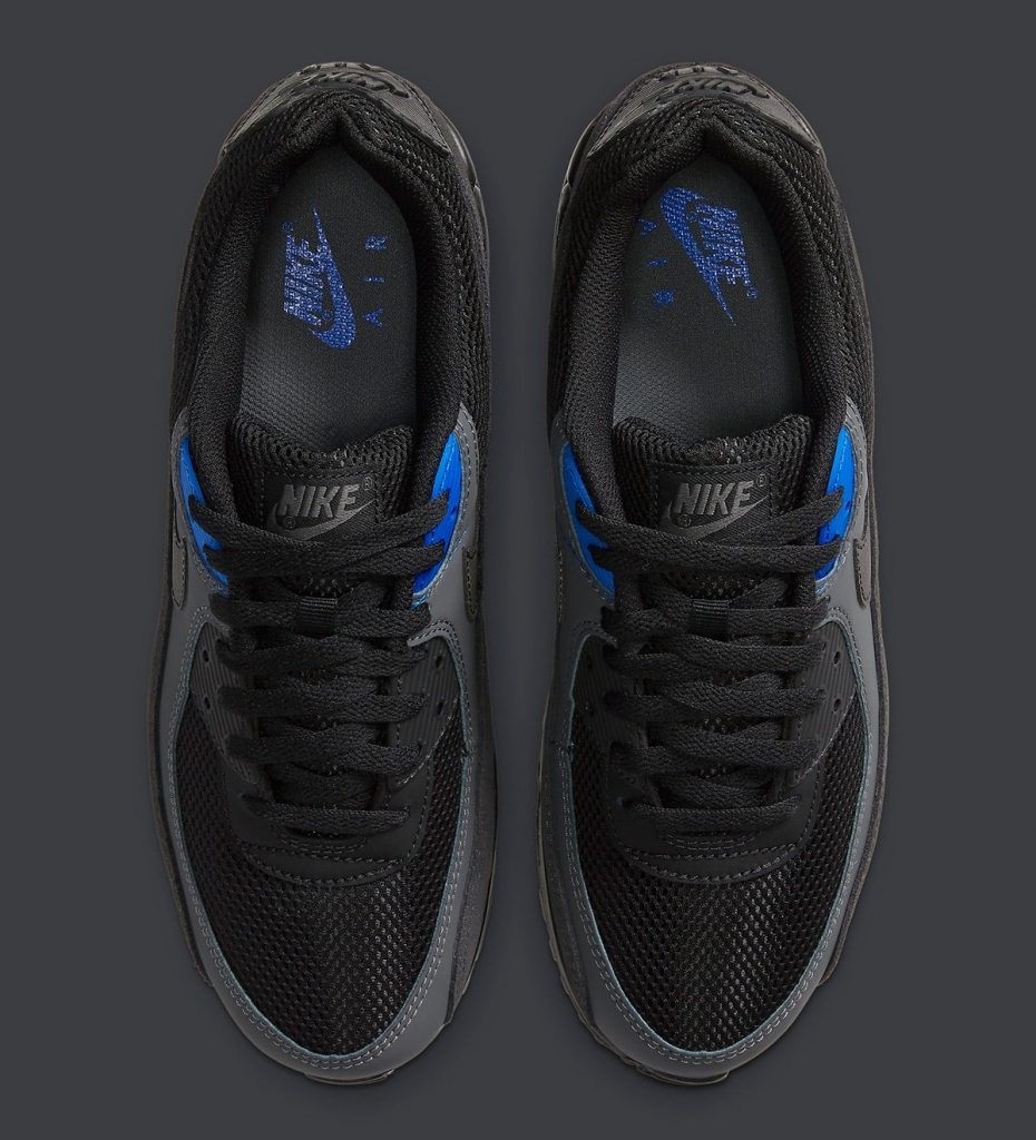 Nike Air Max 90 Black Royal-3