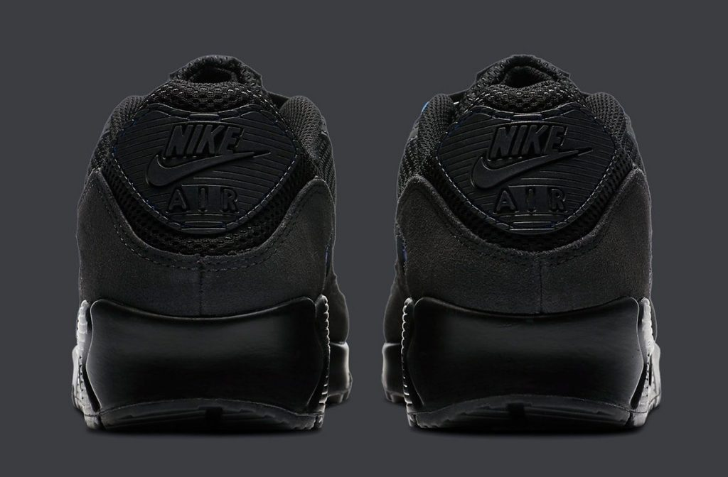Nike Air Max 90 Black Royal-4